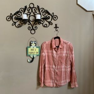 Maurices Flannel Button Down